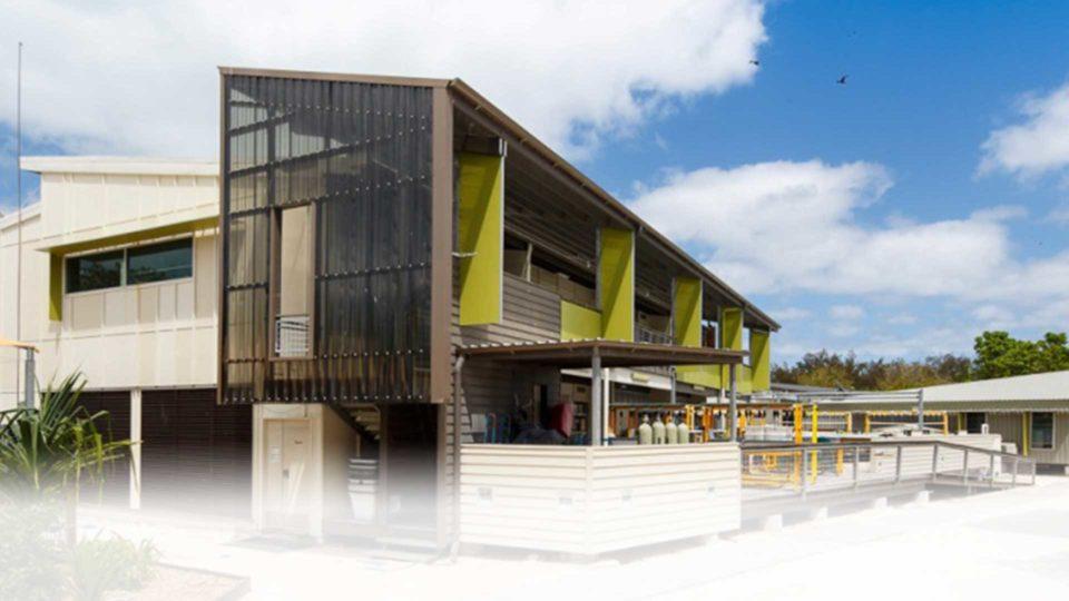 UQ Heron Island Research Station