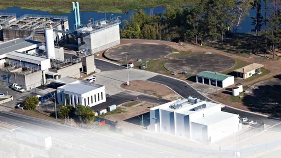 Nebo Road Waste Water Treatment Plant